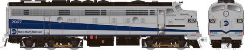 Rapido HO 14610 Rebuilt EMD FL9, Metro North #2007