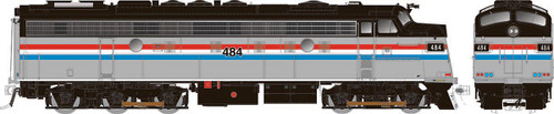 Rapido HO 14614 Rebuilt EMD FL9, Amtrak #484
