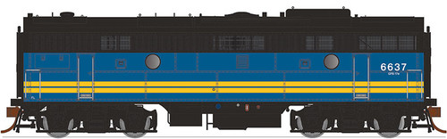 Rapido HO 223530 F9B, Via Rail #6637