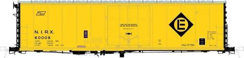 Moloco HO 51001-60006 50' RBL Offset Door Box Car, NIRX #60006