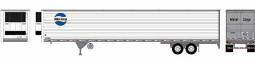 Athearn HO 17968 53' Reefer Trailer, Motor Cargo #52-0008
