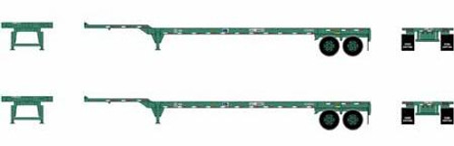 Athearn HO 26612 45' Container Chassis, China Shipping (2)