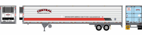 Athearn HO 28467 53' Reefer Trailer, Central #1