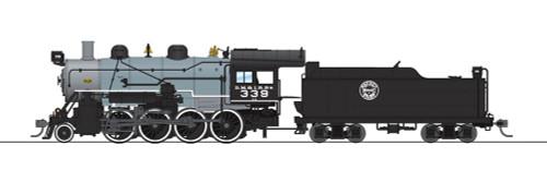 Broadway Limited Imports HO 6344 2-8-0 Consolidation with Smoke, Duluth Missabe and Iron Range #339