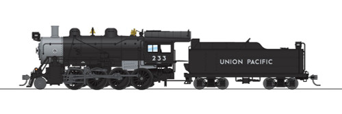 Broadway Limited Imports HO 6353 2-8-0 Consolidation with Smoke, Union Pacific #233