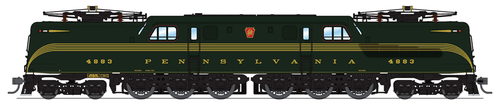 Broadway Limited Imports HO 6360 GG1 Electric, Pennsylvania Railroad #4883