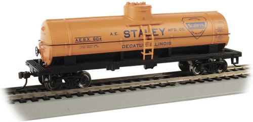 Bachmann HO 17805 40' Single Dome Tank Car, Staley #604