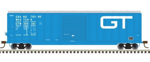Atlas HO 20005638 50' Berwick Box Car, Grand Trunk Western #309361