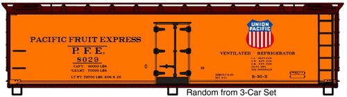 Accurail HO 81311 40' Wood Refrigerator Car, Pacific Fruit Express