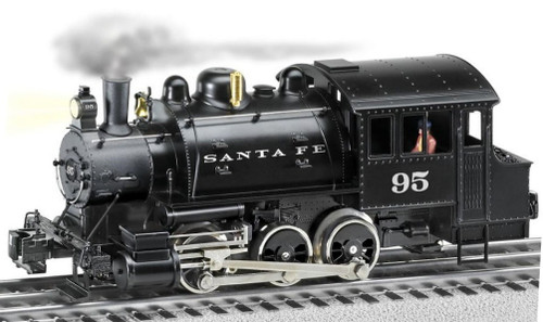 Lionel O 2032010 LionChief 2.0+ 0-6-0T Locomotive, Santa Fe #95