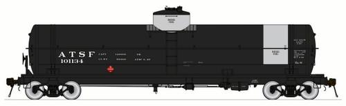 American Limited HO 1845 GATC Welded Tank Car, Santa Fe #101134