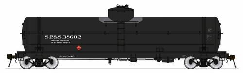 American Limited HO 1855 GATC Welded Tank Car, Spokane Portland and Seattle #38606