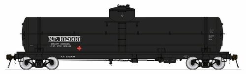 American Limited HO 1864 GATC Welded Tank Car, Northern Pacific #102023
