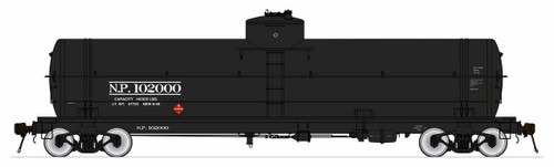American Limited HO 1868 GATC Welded Tank Car, Northern Pacific #102040