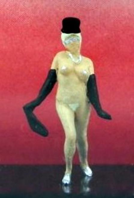 Preiser HO 29003 Exotic Dancer with Top Hat