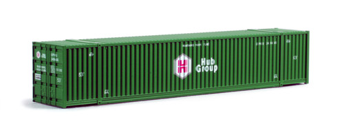 Kato N 80054G 53' Intermodal Container, Hub Group (2)