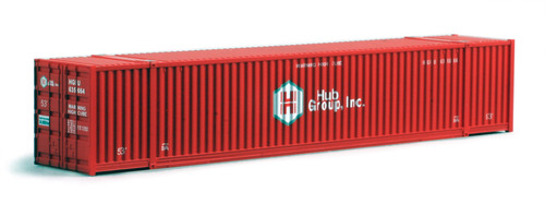 Kato N 80054H 53' Intermodal Container, Hub Group (2)