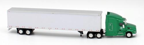 Trucks N Stuff HO 400662 Peterbilt 579 Sleeper Cab Tractor with 53' Dry Van Trailer, Cowan
