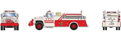 Athearn HO 92033 Ford F-850 Fire Truck, Washington DC