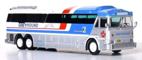 Iconic Replicas HO 87-0254 1970 MCI MC-7 Cargo Freighter Motorcoach, Greyhound Canada