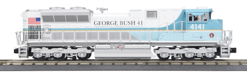 MTH RailKing O 30-20805-1 SD70ACe Imperial Diesel Engine, George Bush #4141