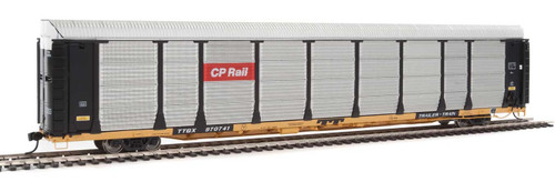 Walthers Proto HO 920-101327 89' Bi-Level Enclosed Auto Rack, Canadian Pacific/TTGX #1121/970741