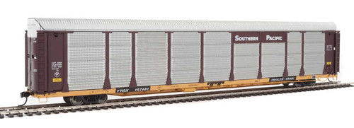 Walthers Proto HO 920-101343 89' Bi-Level Enclosed Auto Rack, Southern Pacific/TTGX #157481