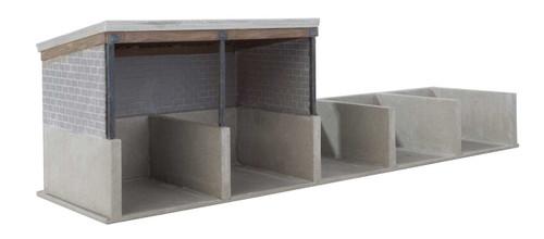 Walthers Cornerstone HO 933-4139 Bulk Materials Storage Kit