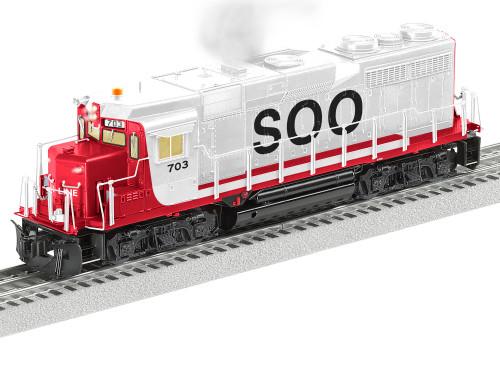 Lionel O 2133492 Legacy GP30 Diesel Locomotive, Soo Line #703