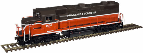 Atlas Trainman HO 10003610 Gold Series GP38-2, Providence and Worcester #2008