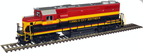 Atlas Trainman HO 10003612 Gold Series GP38-2, Kansas City Southern #2034