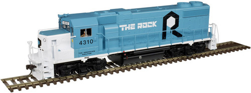 "Atlas Trainman HO 10003617 Gold Series GP38-2, Rock Island ""Oklahoma"" #4308"