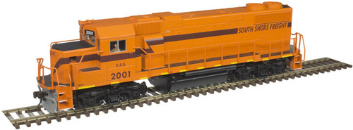 Atlas Trainman HO 10003619 Gold Series GP38-2, Chicago South Shore #2001