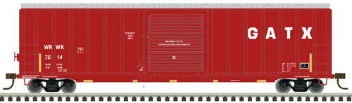 Atlas HO 20005647 50' Berwick Box Car, GATX (WRWK) #7514
