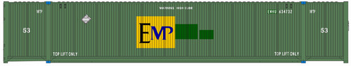 Atlas HO 20005944 53' CIMC Container Set #2, EMP (3)