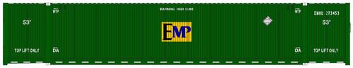 Atlas HO 20005946 53' CIMC Container Set #2, EMP (3)