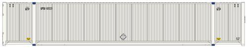 Atlas HO 20005954 53' CIMC Container Set #2, UPSU (3)