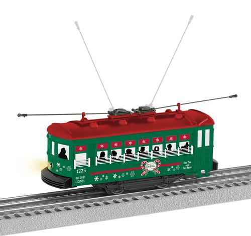 Lionel O 2135140 North Pole Central Trolley