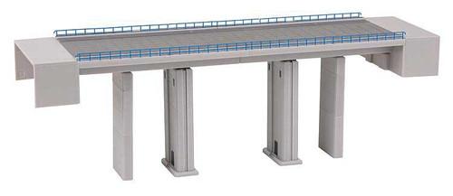 Faller N 222571 Double Track Concrete Bridge Kit
