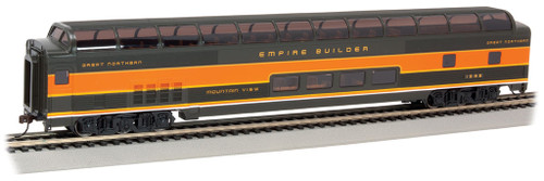 """Bachmann HO 13003 85' Budd Full Done Car, Great Northern """"Mountain View"""" #1392"""