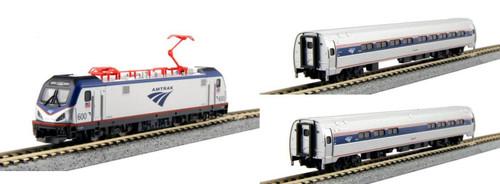 Kato N 1068001BNDL-DCC ACS-64 Northeast Corridor Complete Bundle 7-Unit Set