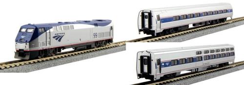 Kato N 1066286BNDL-LS Amtrak P42 with Amfleet and Viewliner Complete Bundle 7-Unit Set