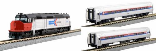 Kato N 1068011BNDL-LS SDP40F and Amfleet Phase I Complete Bundle 7-Unit Set