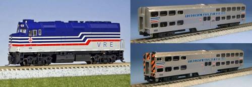 Kato N 1068706BNDL-LS VRE Capital Commuter Complete Bundle 6-Unit Set
