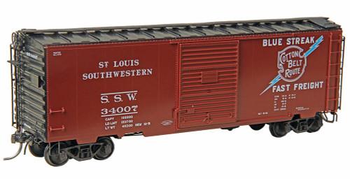 Kadee HO #5024 40' PS-1 Box Car, St. Louis Southwestern #34007