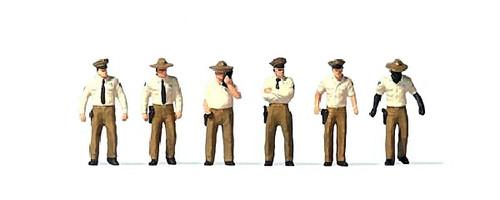Preiser HO 10796 US Sheriff Deputies