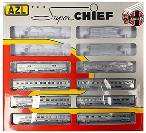 American Z Line Z 72200 Super Chief 8-Car Passenger Set, Atchison Topeka and Santa Fe