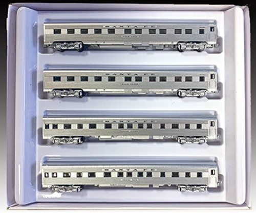 American Z Line Z 72211 Super Chief 4-Car Add-On Set, Atchison Topeka and Santa Fe