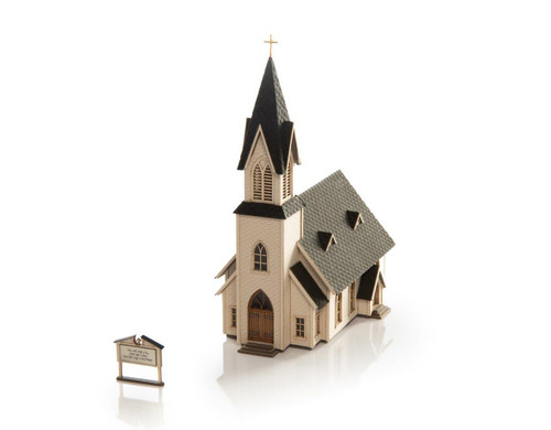 Archistories Z 403181 Country Church Kit