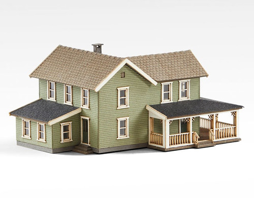Archistories Z 404201 Turn of The Century House Kit, Olive